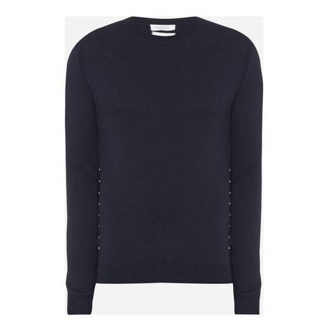 Rockstud Cashmere Sweater, ${color}