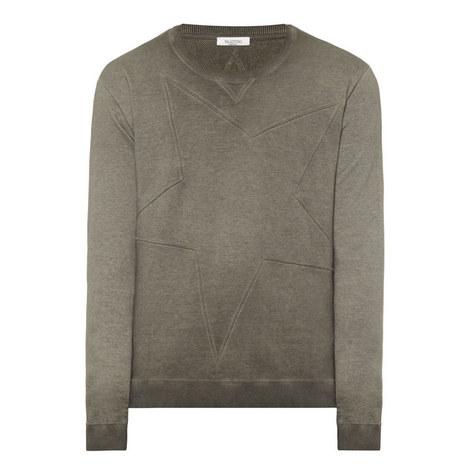 Washed Star Sweatshirt, ${color}