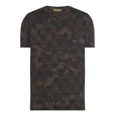 Camouflage Star Print T-Shirt