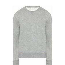 Pyramid Stud Sweatshirt