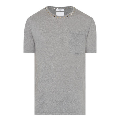 Rockstud Patch Pocket T-Shirt, ${color}