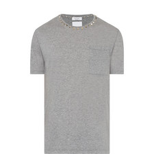 Rockstud Patch Pocket T-Shirt