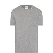 Rockstud Patch Pocket T-Shirt
