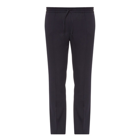 Drawstring Wool Trousers, ${color}