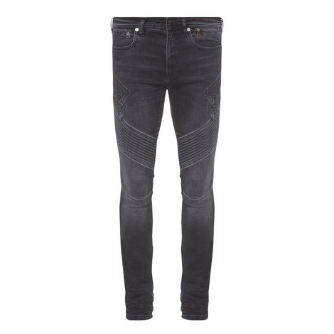 Skinny Biker Jeans, ${color}