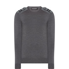 Military Shoulder Sweater