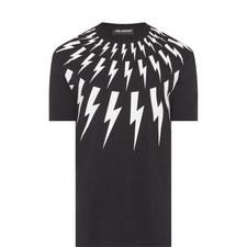Thunderbolt Crew Neck T-Shirt