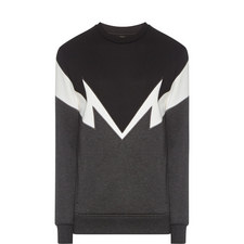 Lightning Detail Sweatshirt