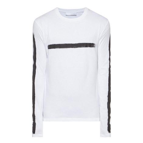 Paint Stroke Long Sleeve T-Shirt, ${color}