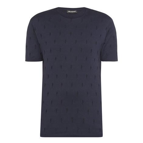 Lightning Embroidered T-Shirt, ${color}