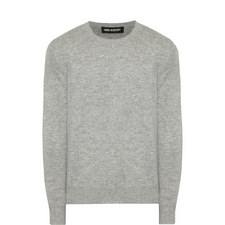 Wool Mix Crew Neck Sweater