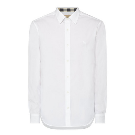 Cambridge Logo Poplin Shirt, ${color}