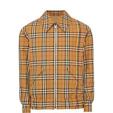 Harrington Check Reversible Jacket