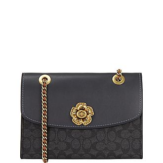 Flower Parker Shoulder Bag