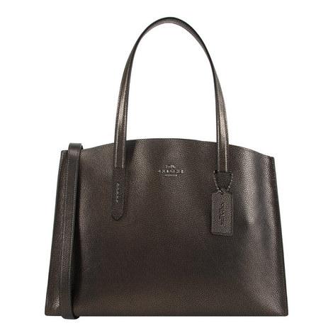 Charlie Leather Handbag, ${color}