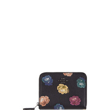 Zip-Around Floral Wallet Small