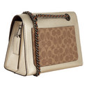 Metallic Parker Shoulder Bag, ${color}
