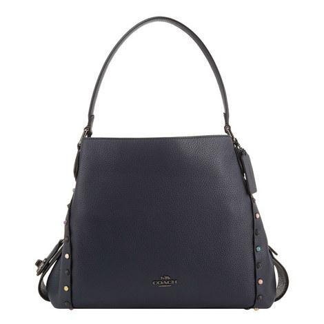 Edie 31 Rivet Shoulder Bag, ${color}