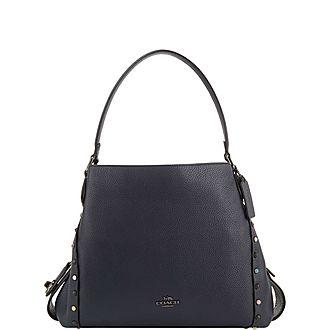 Edie 31 Rivet Shoulder Bag
