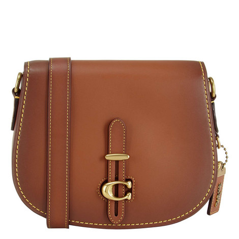 Glove-Tanned Leather Medium Saddle Bag, ${color}