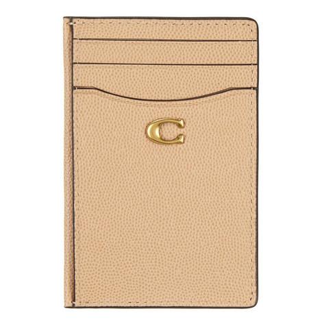 Grain Leather Card Holder, ${color}