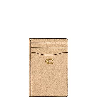 Grain Leather Card Holder