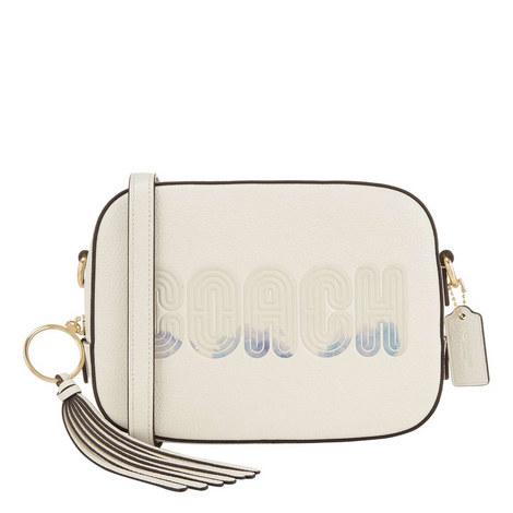 Brand Print Camera Bag, ${color}