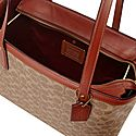 Highline Signature Top Zip Tote, ${color}
