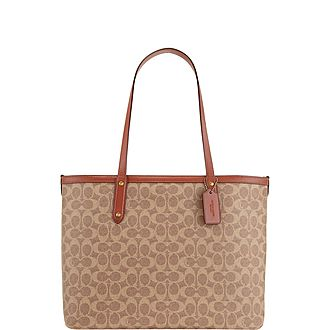 Highline Signature Top Zip Tote