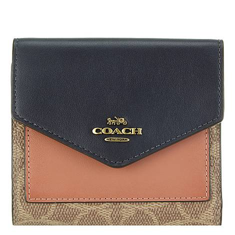 Small Logo Flap Wallet, ${color}