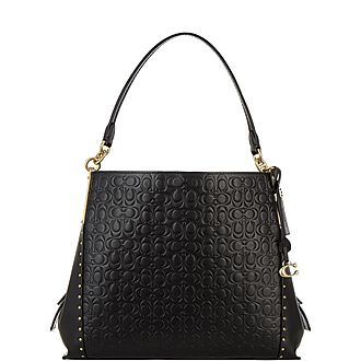 Dalton Rivet Shoulder Bag