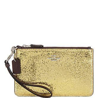 Glitter Wristlet Wallet