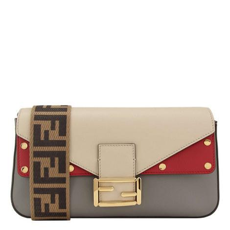 Web Strap Baguette Bag, ${color}