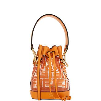 Transparent Tresor Small Bucket Bag