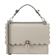 KAN I Scalloped Shoulder Bag