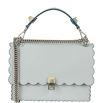 Kan Scalloped Crossbody Bag