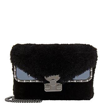 Monster Shearling Shoulder Bag