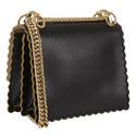 KAN I Scalloped Mini Shoulder Bag, ${color}