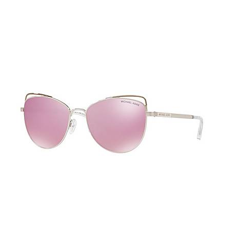 Cat Eye Sunglasses MK1035 55, ${color}