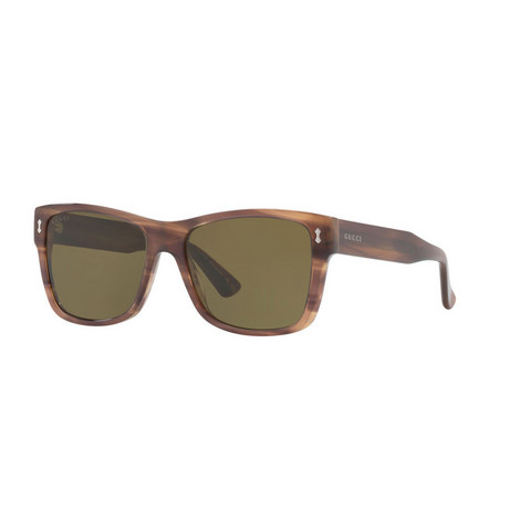 Rectangular Sunglasses GG0052S 55, ${color}