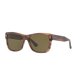Rectangular Sunglasses GG0052S 55