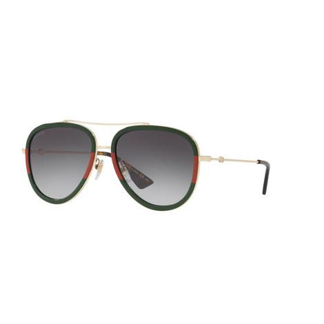 Aviator Sunglasses GG0062S 57, ${color}