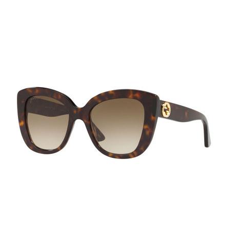 Cat Eye Sunglasses GG0327S, ${color}
