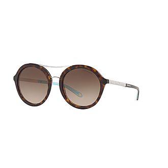 Round Sunglasses TF4136B 52