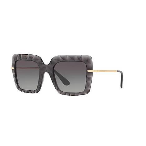 Square Sunglasses DG6111 51, ${color}