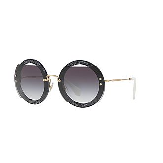 Round Sunglasses MU 06SS 63