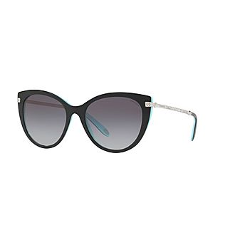 Cat Eye Sunglasses TF4143B 55