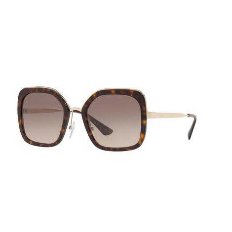 Square Sunglasses PR 57US 54, ${color}