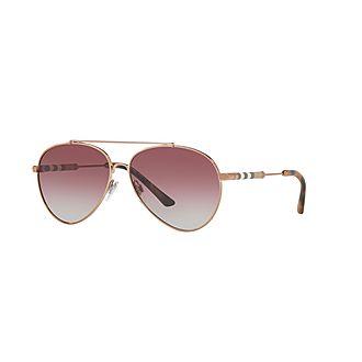 Aviator Sunglasses BE3092Q 57