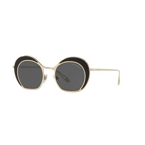 Round Sunglasses AR6073 47, ${color}